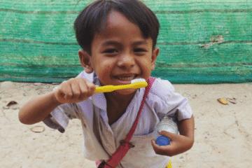 Healthy Teeth at Helping Hands