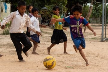 Football at Helping Hands