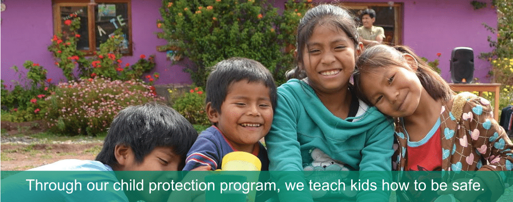 teaching children to keep themselves safe at kids project cusco peru