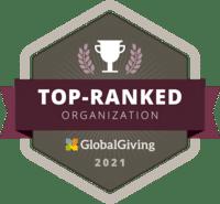 GlobalGiving top ranked organisation