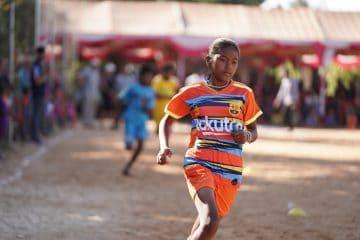 empowering girls through sports in Cambodia