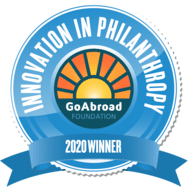 2020 GoAbroad Innovation in Philanthropy Winner