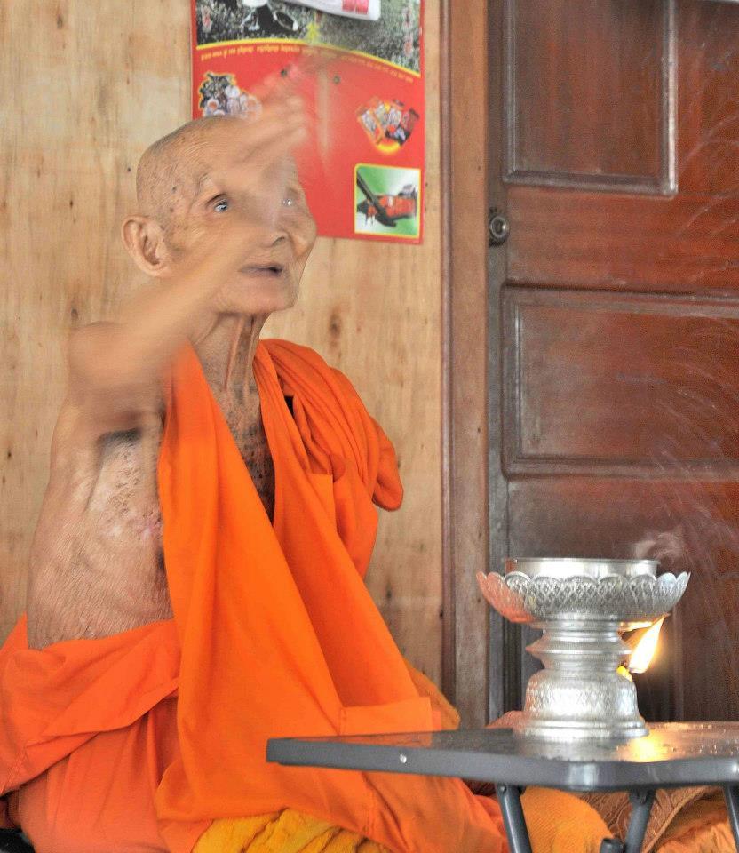 Pchum Ben blessing Cambodia Siem Reap