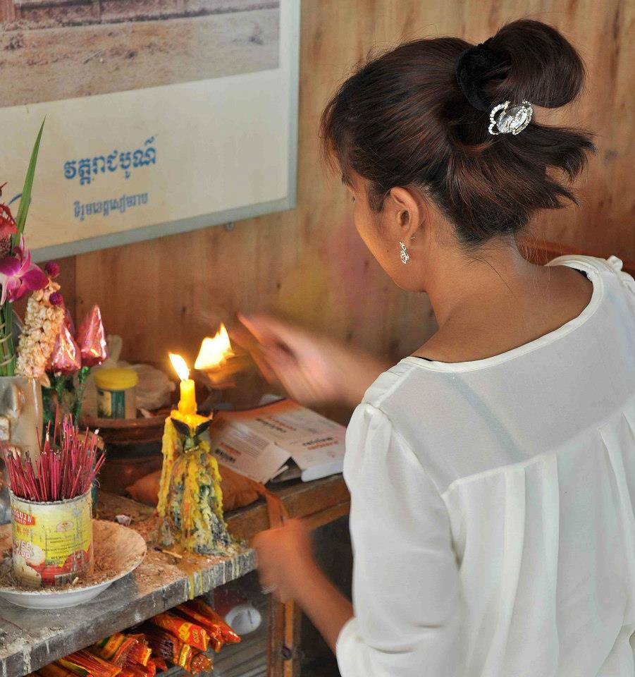 Pchum Ben blessing