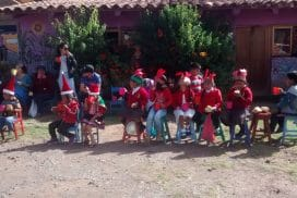 Christmas at Picaflor House Peru