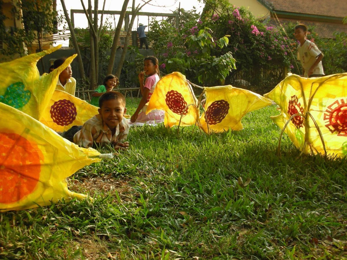 Siem Reap Puppet Parade
