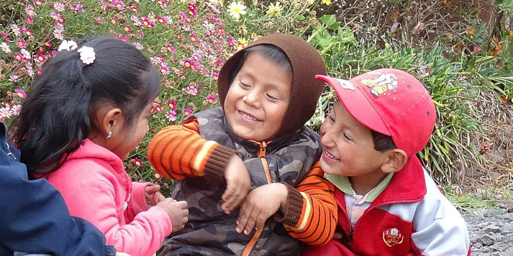 Kids at the Cusco community project