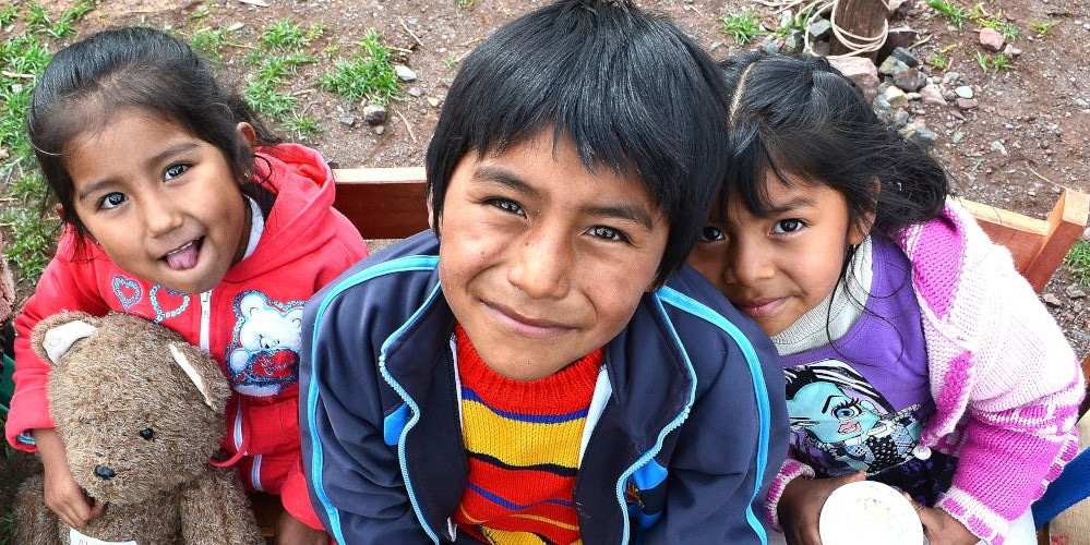 Volunteer in Peru with the kids of Cusco