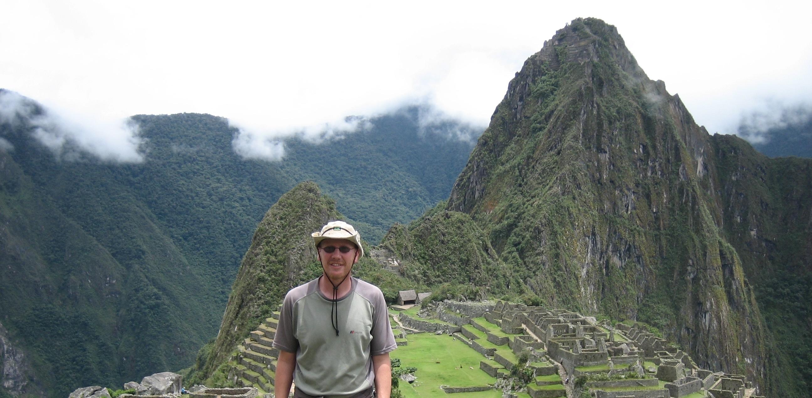 Founder Jim Elliott at Machu Picchu
