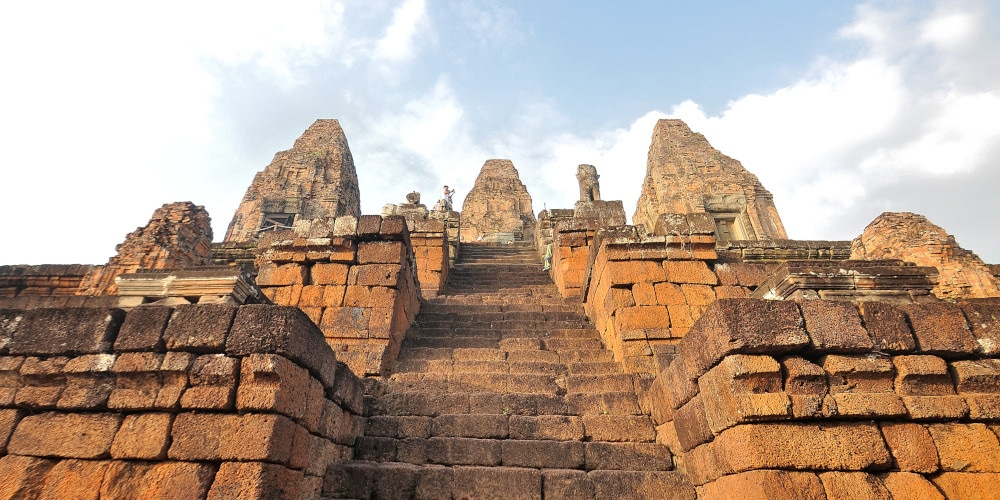 One of Angkor's magnificent temples, Siem Reap, Cambodia