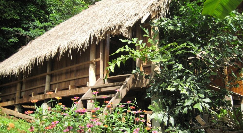 Accommodation at the Cambodia elephant Sanctuary