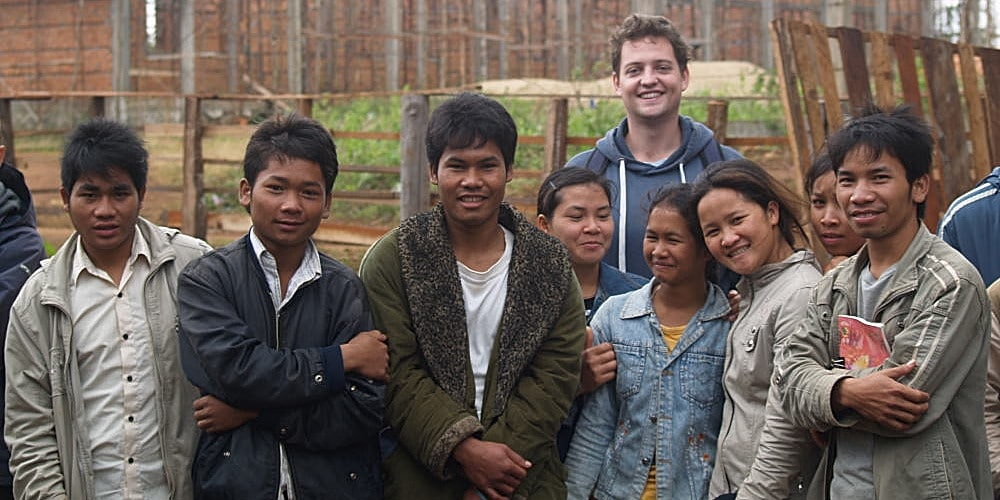 Volunteer at the Cambodia Indigeous people's project