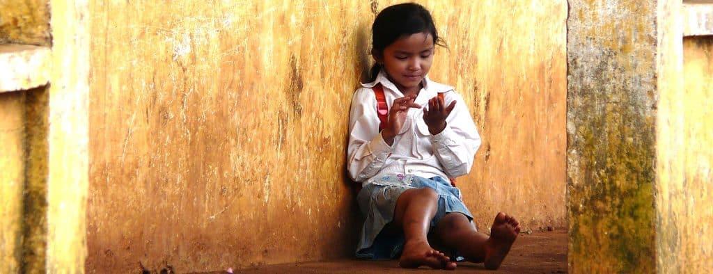 Bunong girl Cambodia