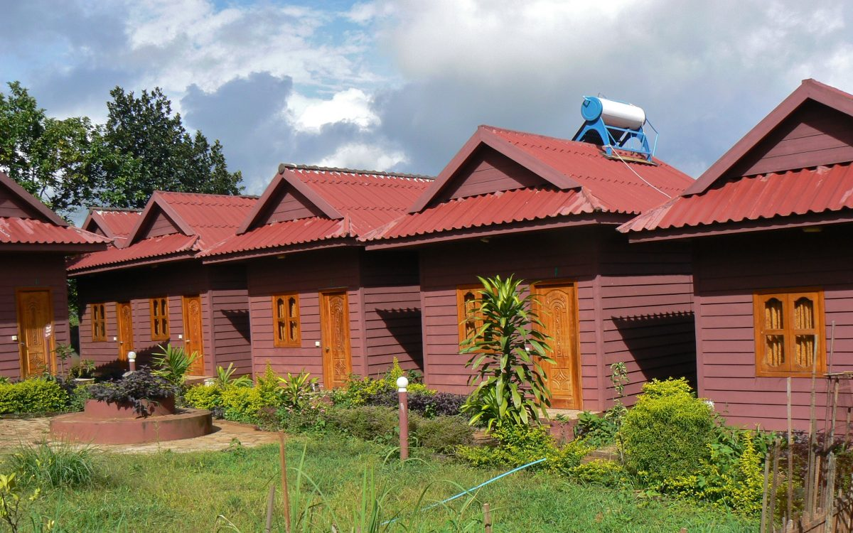 Volunteer accommodation at the Cambodia Indigenous people's project