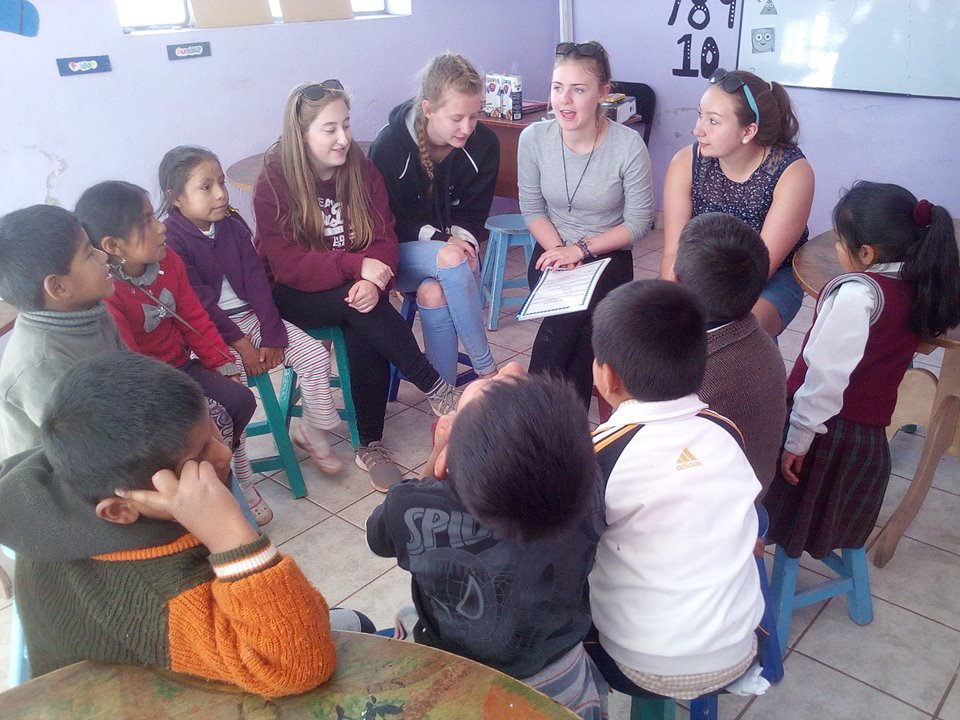 English Classes with Volunteers