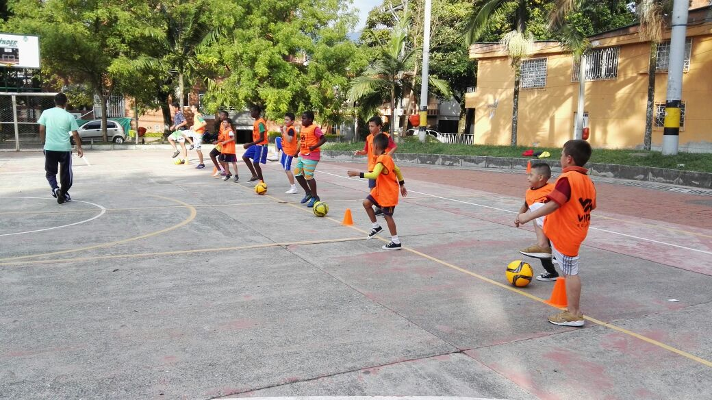 Colombia Kids Project Sport's Day