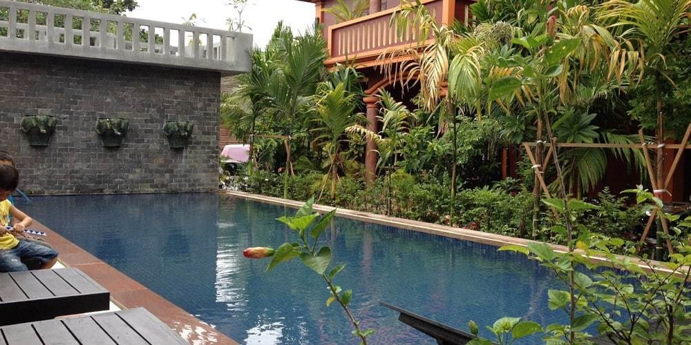 Bou Savy Pool Siem Reap Cambodia