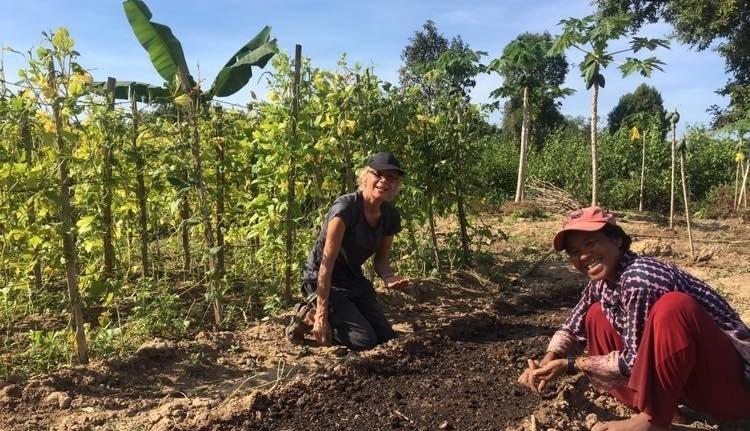 Farming Volunteers Siem Reap