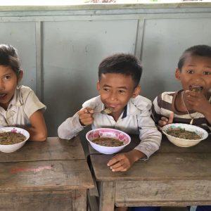 Helping Hands School Breakfast Program