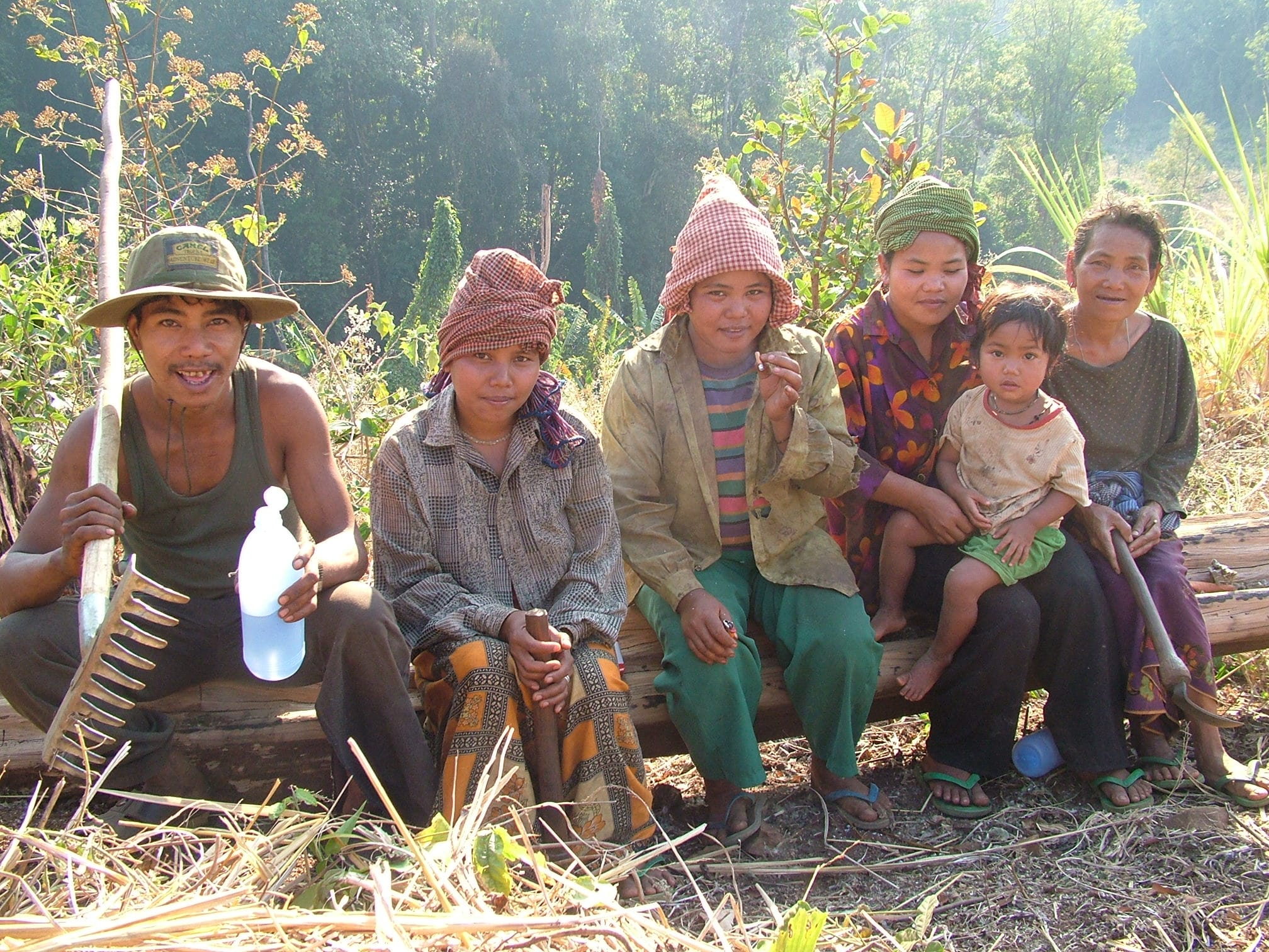 The Bunong people of Cambodia
