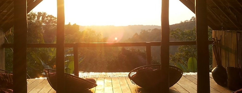 View from the elephant lodge