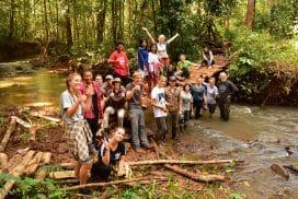 Volunteers in Cambodia