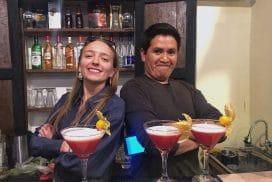 Intern in a local restaurant in Cusco