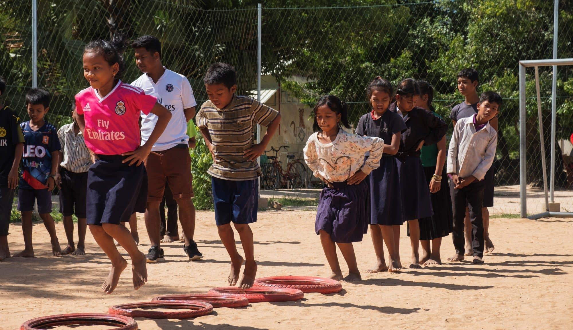 Sports Programme Volunteer Cambodia