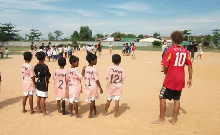Help Kids Sports Programme in Cambodia