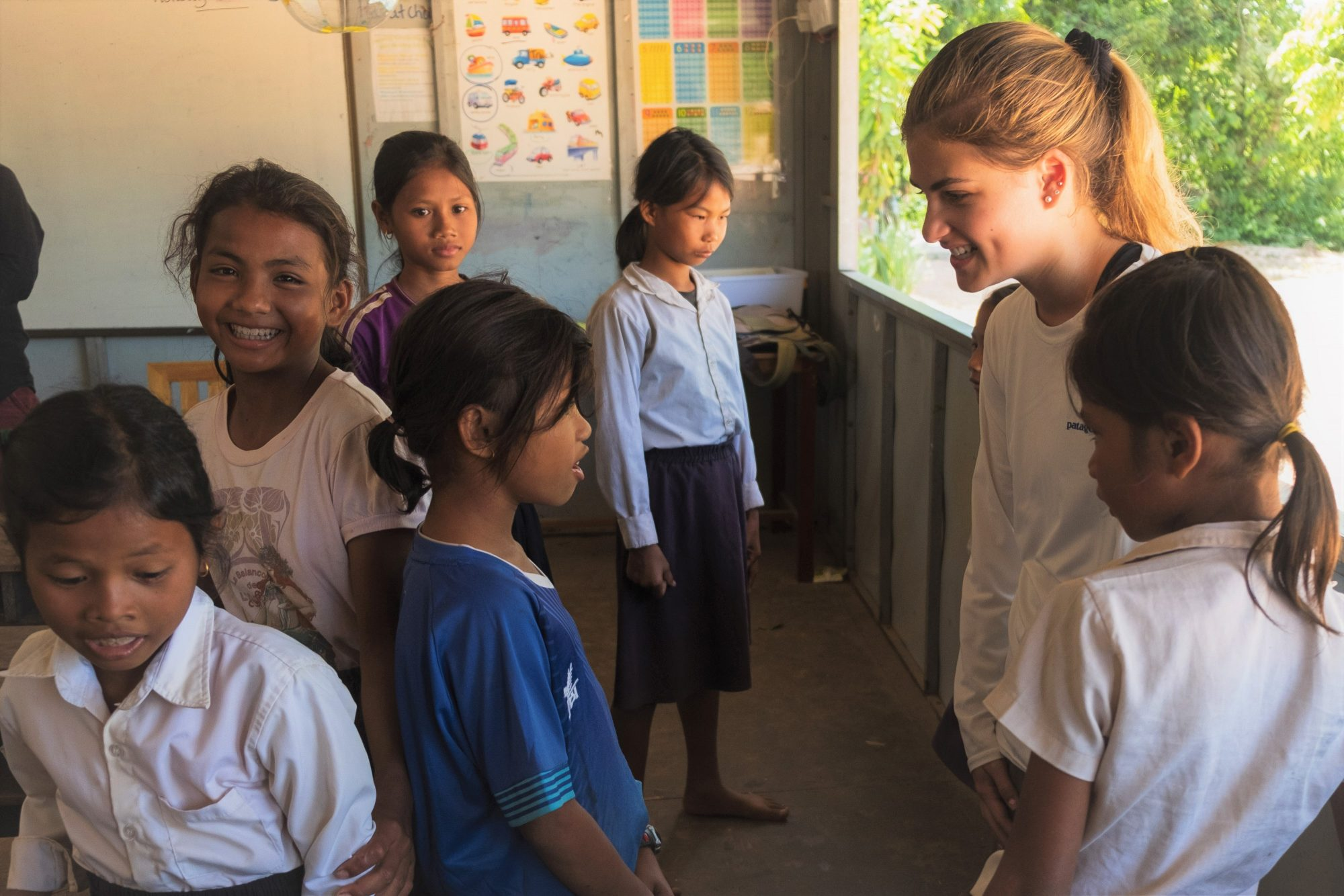 Communication while volunteering abroad