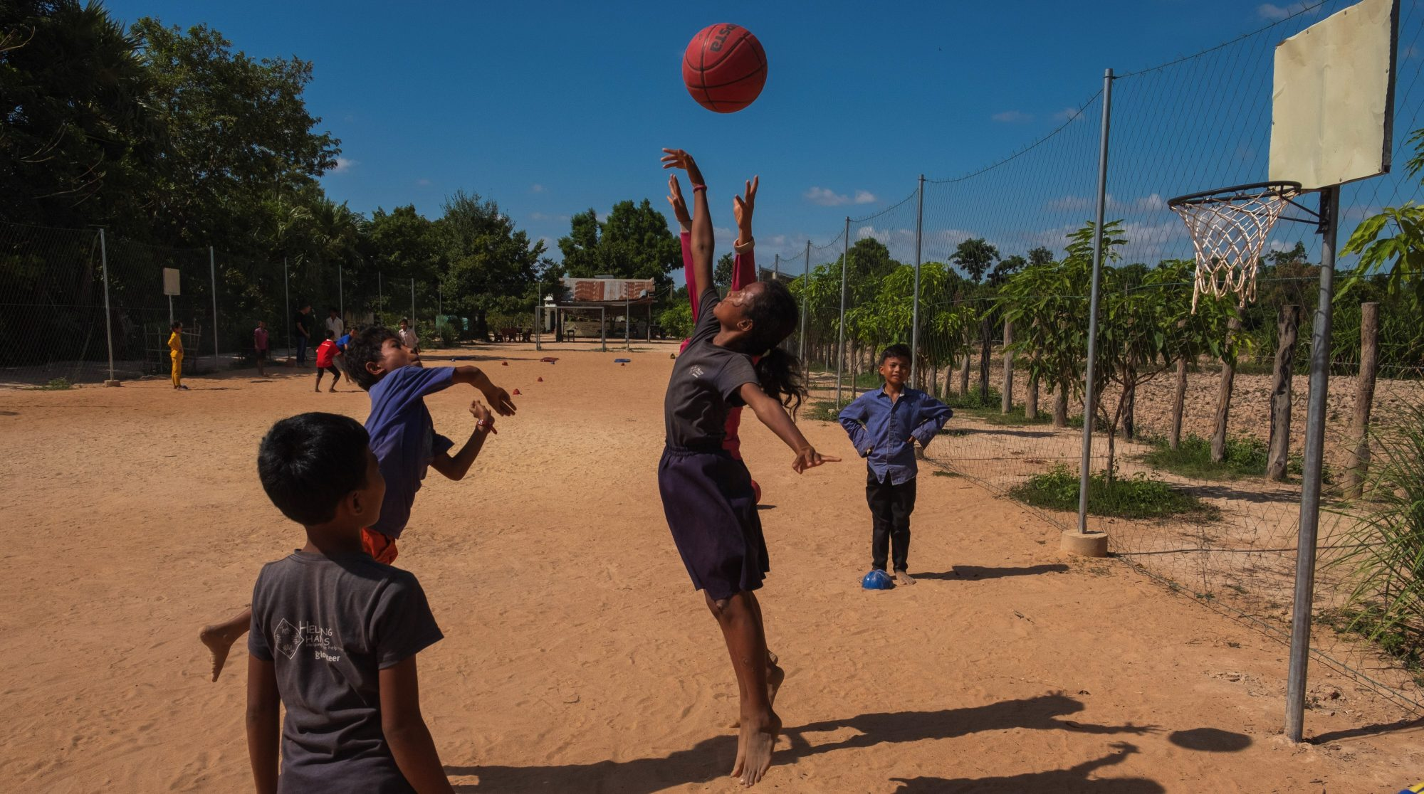 Volunteer at the Cambodia Sports Project