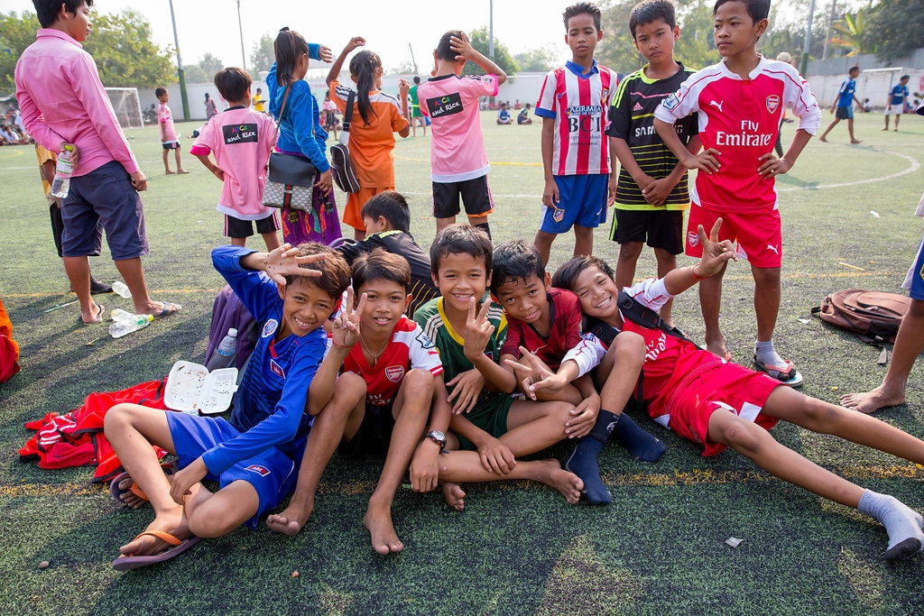 Kids Sports Programme Cambodia