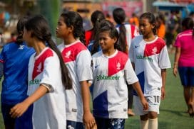 Helping children Cambodia with sports