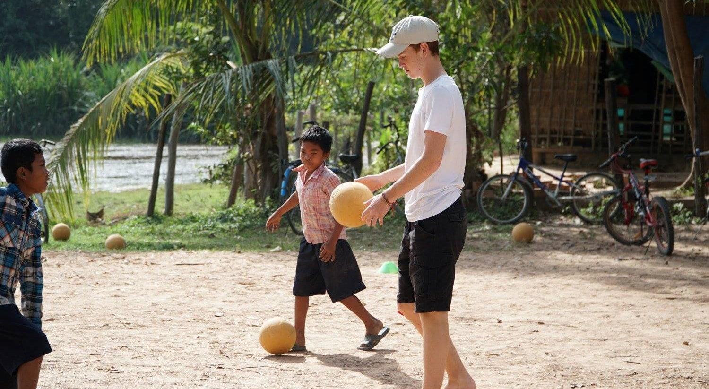 Sports Volunteer Cambodia