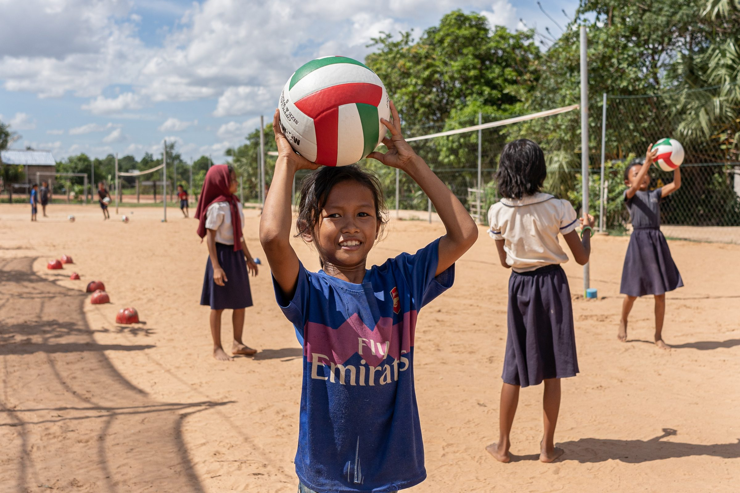 Volunteer Cambodia Sports Project