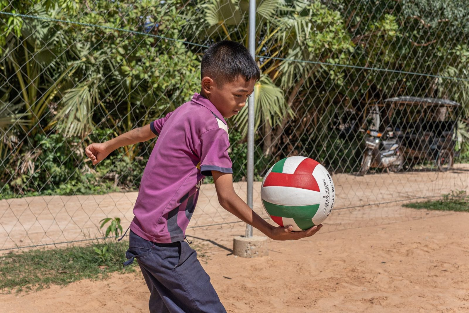 Help provide access to sports to children in Cambodia