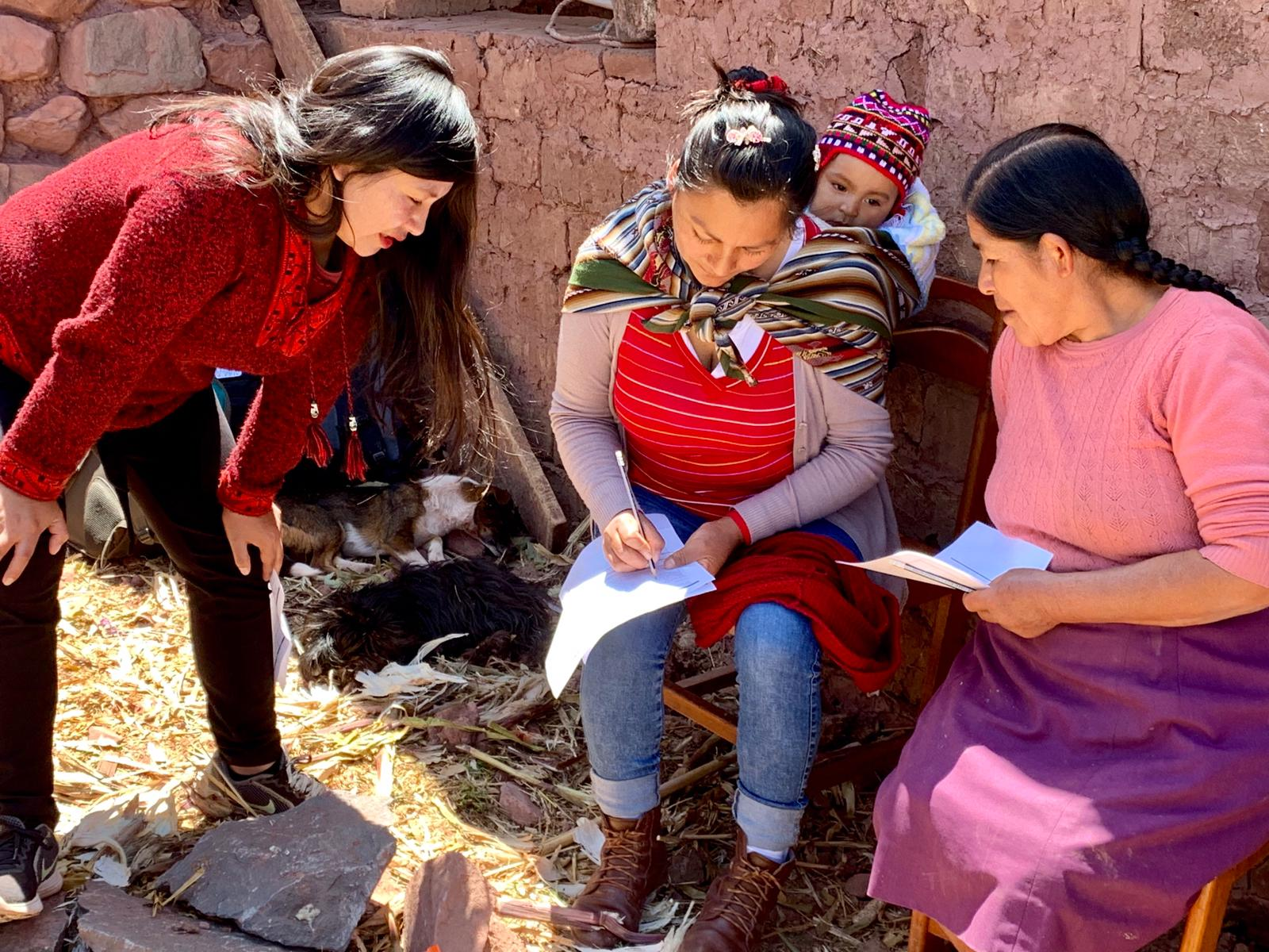 Empowering Women in Peru with their own buisnesses