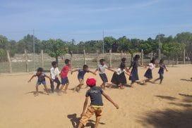 PE at Sports Program Siem Reap