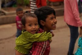 Kids in Siem Reap Community project