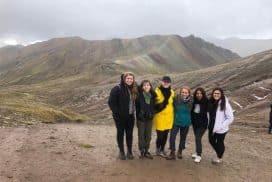 Interns at Rainbow Mountain