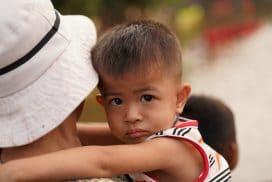 Siem Reap water festival trash