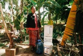 Providing Clean Water in Cambodia with Bio-Sand Filters