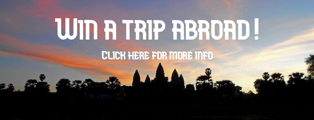 Angkor Wat abroad raffle