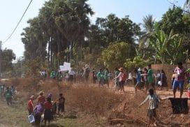 Clean up village