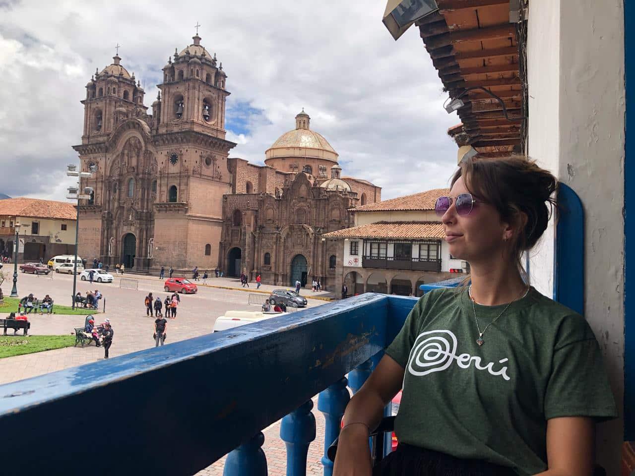 Interning in Cusco - Evie