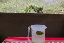 Drinks whilst hiking