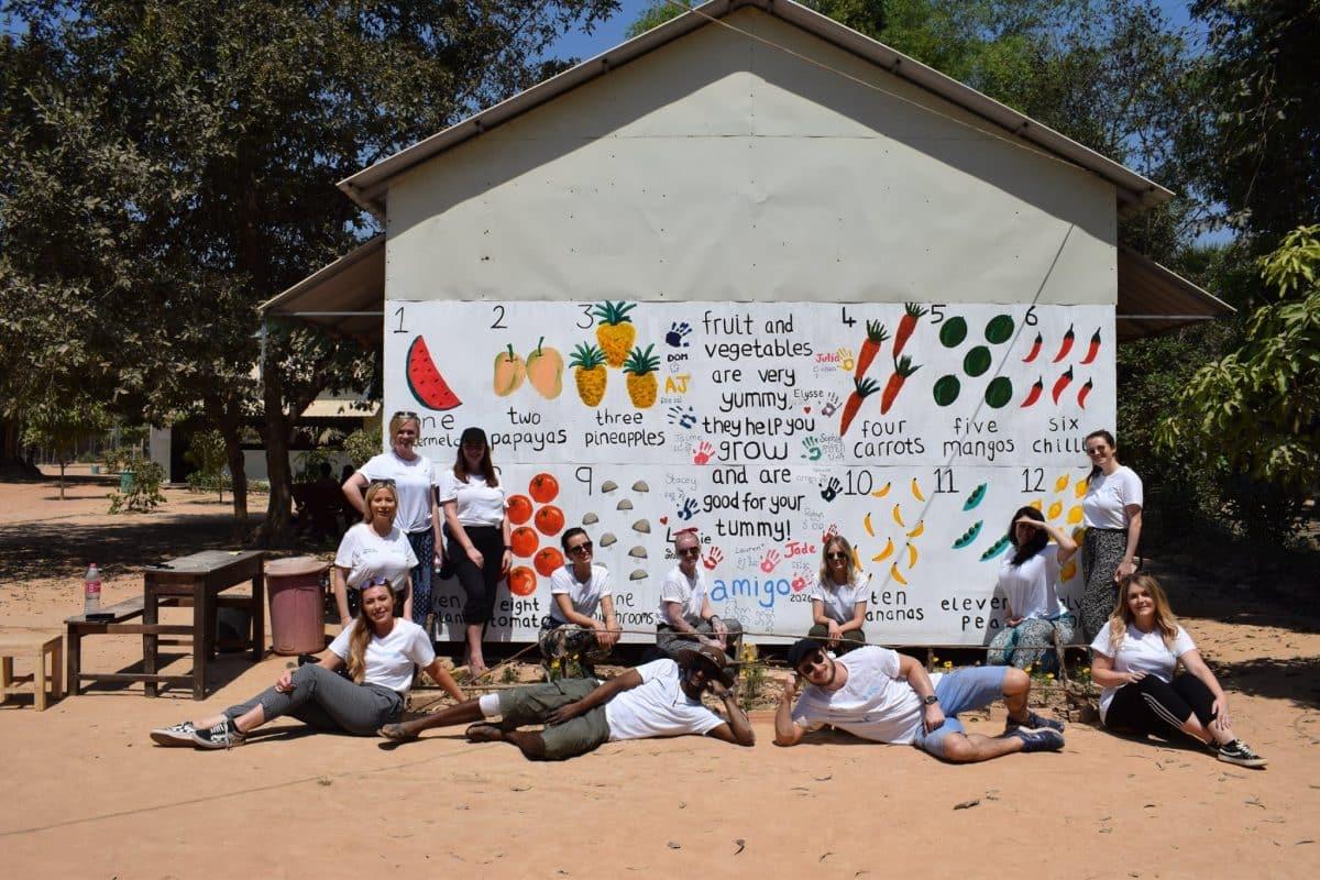 AMIGO Loans Volunteer Group in Cambodia