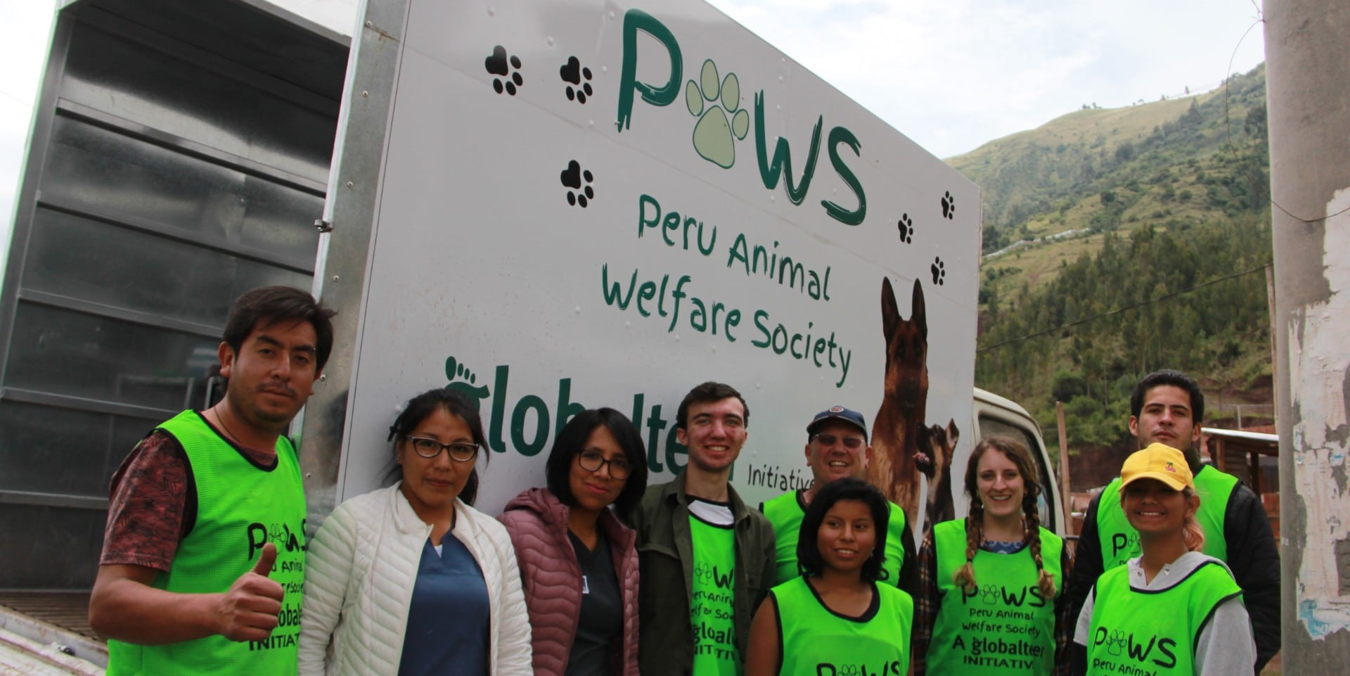 Mobile vet clinic Cusco Peru