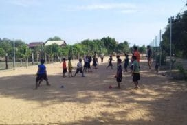 Children feel more confident after few sport sessions