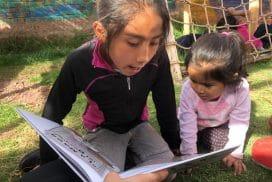 providing access to books for children in Peru